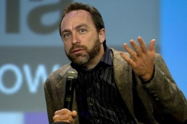 Jimmy Wales, ojciec Wikipedii /AFP