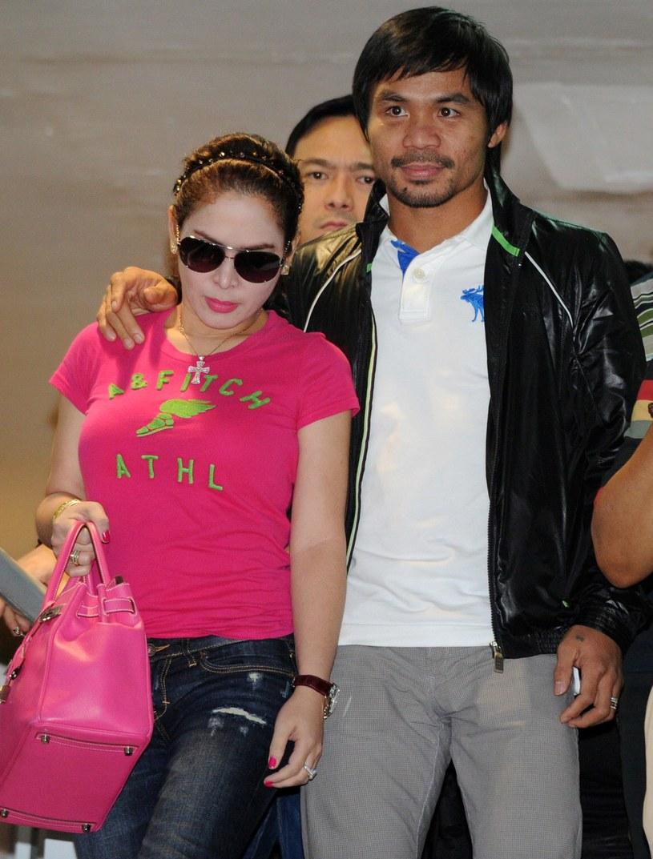 Jinkee i Manny Pacquiao /AFP