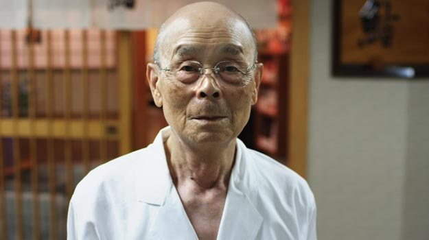 "Jiro Ono - bohater dokumentu ""Jiro śni o sushi"". /materiały dystrybutora"