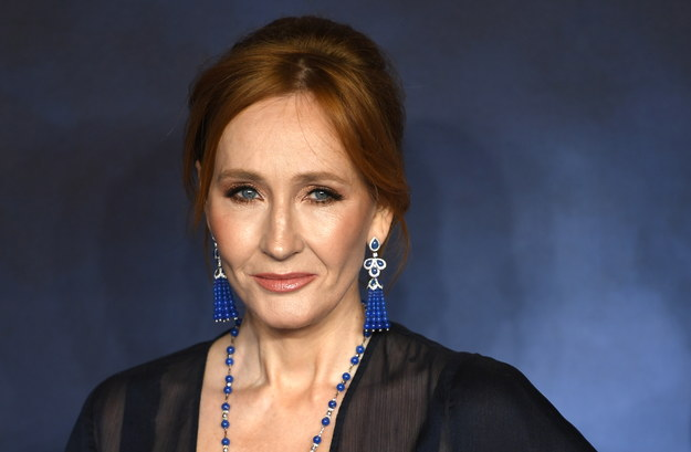 JK Rowling / NEIL HALL /PAP/EPA