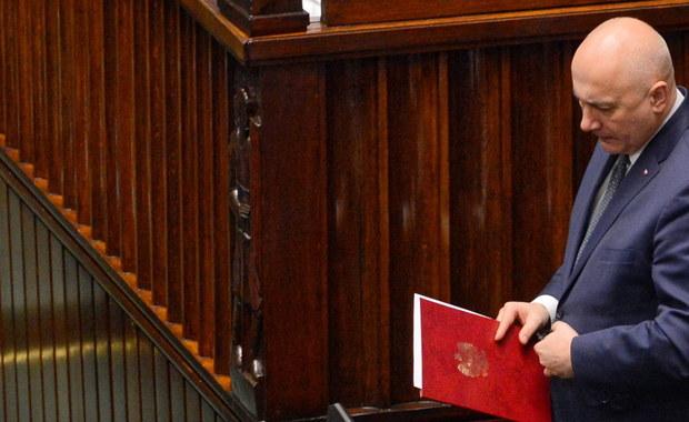 Joachim Brudziński po zabójstwie Pawła Adamowicza: Oddaję się do dyspozycji pana premiera