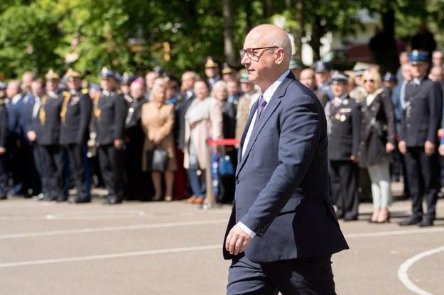 Joachim Brudziński w Choszcznie /Marek Szandurski /East News