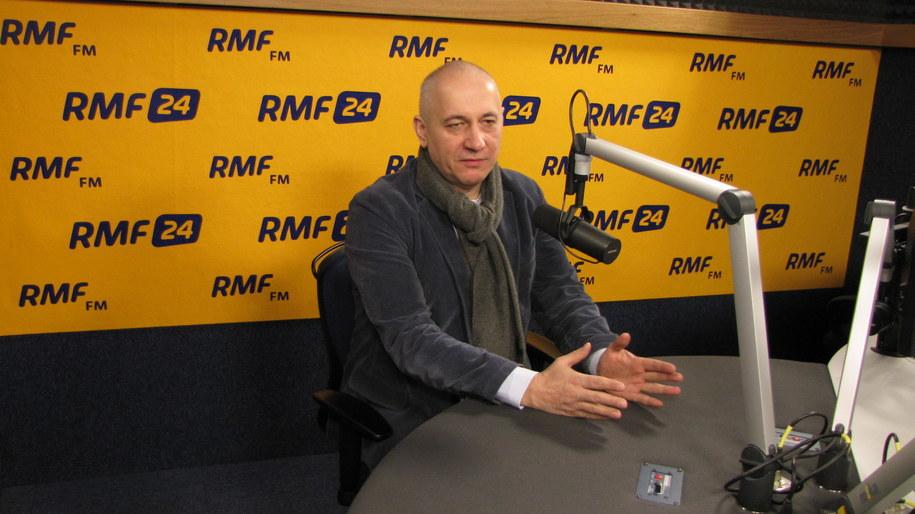 Joachim Brudziński w Kontrwywiadzie RMF FM /Kamil Młodawski /RMF FM