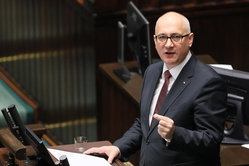 Joachim Brudziński w Sejmie /Paweł Supernak /PAP