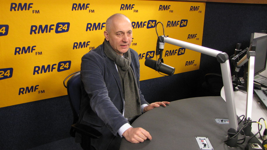 Joachim Brudziński /Kamil Młodawski /RMF FM