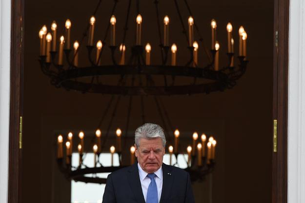 Joachim Gauck: Należy z większą powagą traktować obawy Polaków i Bałtów fot. Tobias Schwarz /AFP