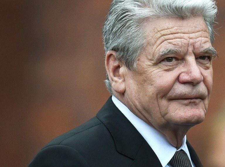 Joachim Gauck /AFP