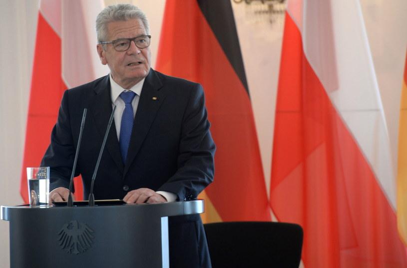 Joachim Gauck /Jacek Turczyk /PAP