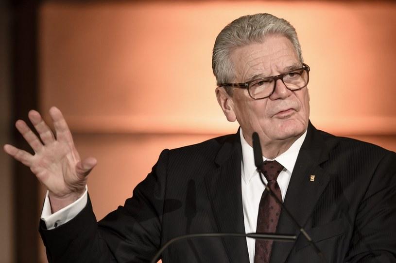 Joachim Gauck /PAP/EPA