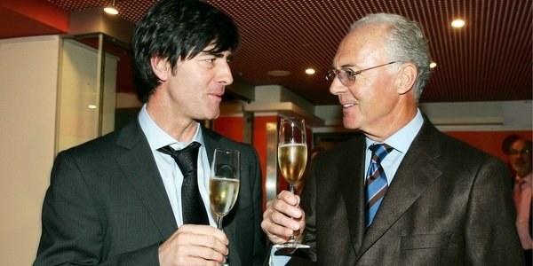 Joachim Loew i Franz Beckenbauer /AFP