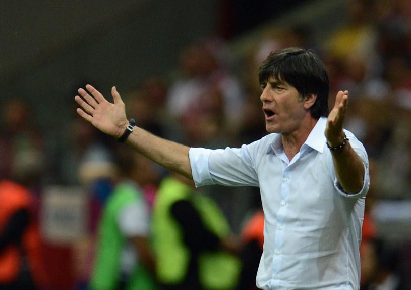 Joachim Loew podczas półfinału Euro 2012 /AFP