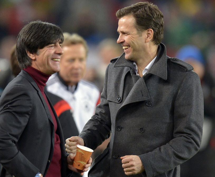 Joachim Loew (z lewej) i Oliver Bierhoff /AFP
