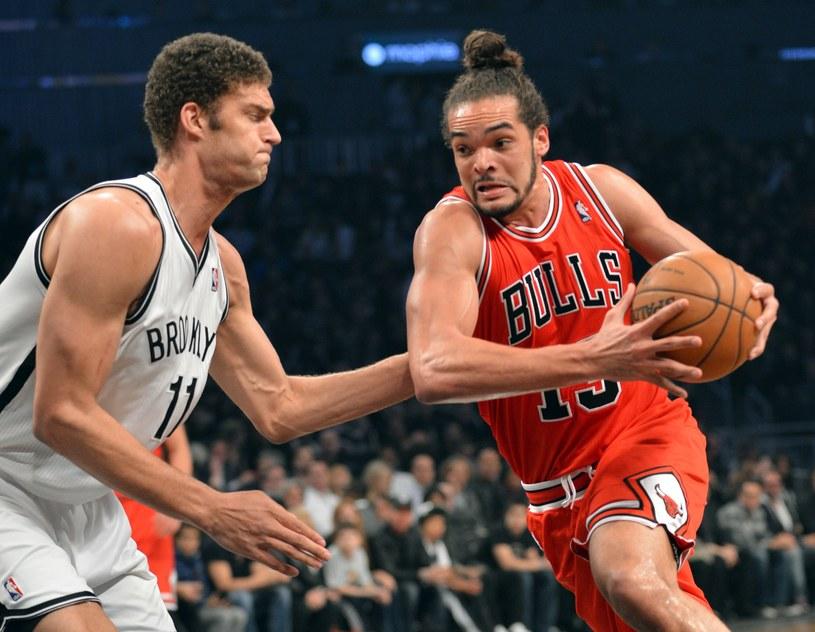 Joakim Noah poprowadził Chicago Bulls do zwycięstwa /AFP