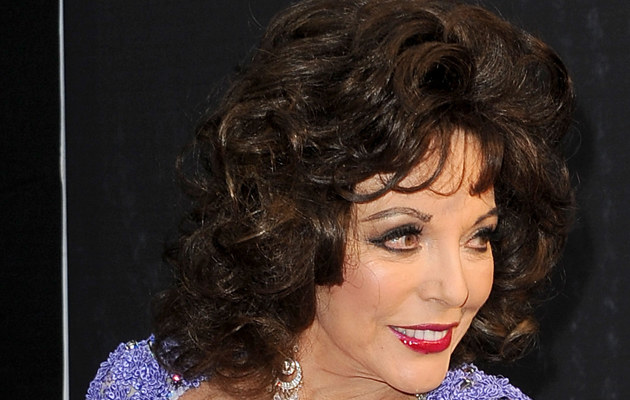 Joan Collins, fot.Craig Barritt   /Getty Images/Flash Press Media