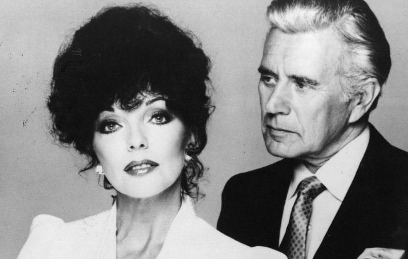 Joan Collins, John Forsythe /Keystone / Hulton Archive /Getty Images
