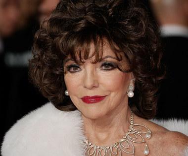 """Joan Collins: """"Może i diamenty są wieczne, ale szczepionka ratuje życie"""". Aktorka przyjęła trzecią dawkę przeciw COVID-19"""