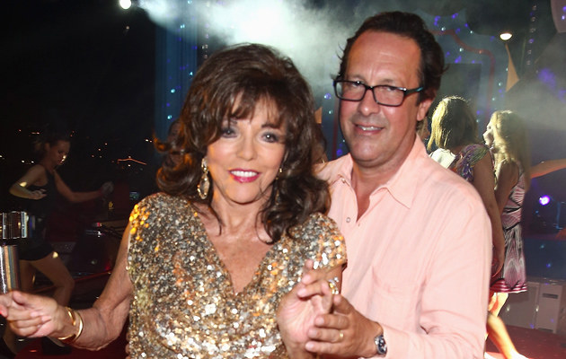 Joan Collins, Percy Gibson (mąż) /Andreas Rentz /Getty Images