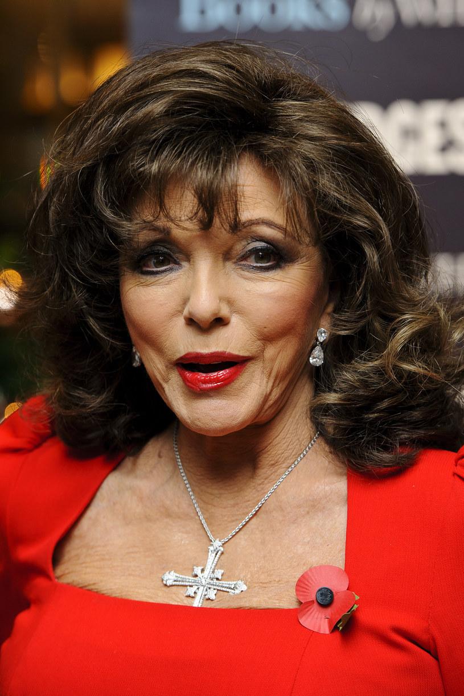 Joan Collins wyznała, że została zgwałcona /Ben A. Pruchnie /Getty Images
