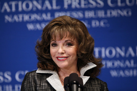 Joan Collins /AFP