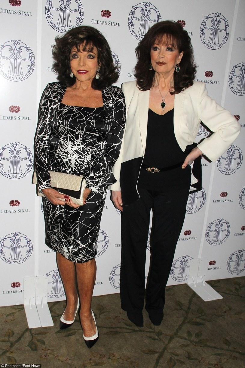 Joan i Jackie Collins /- /East News