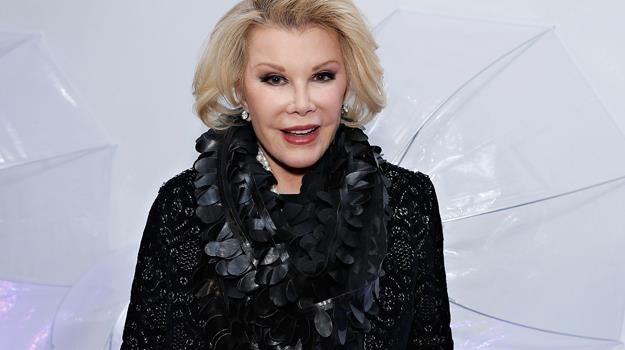 Joan Rivers cieszyła się ogromną sympatią wsród gwiazd show-biznesu / fot. Cindy Ord /Getty Images
