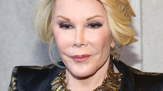 Joan Rivers nie odzyskała na razie przytomoności- fot. Astrid Stawiarz /Getty Images