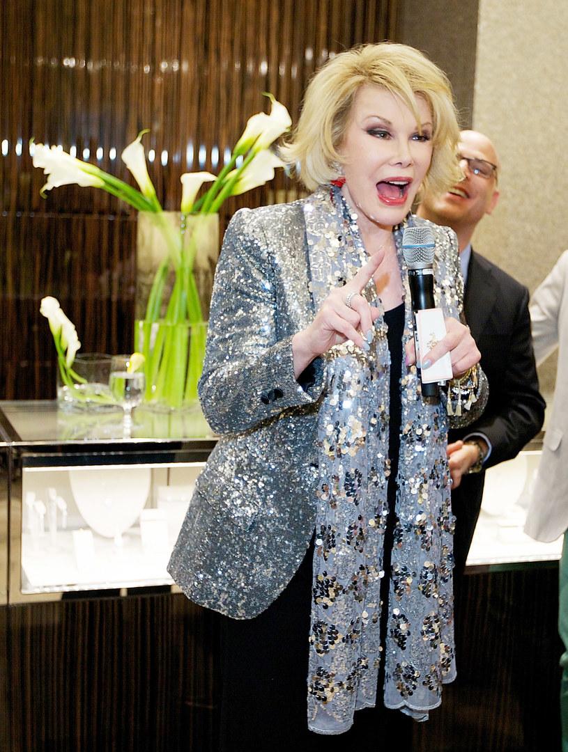 Joan Rivers /Jeff Schear /Getty Images