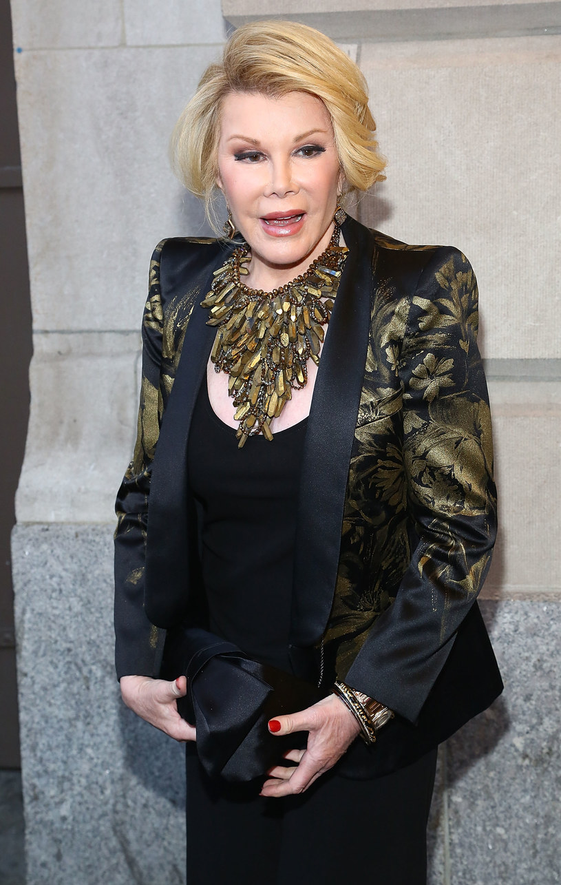 Joan Rivers /Astrid Stawiarz /Getty Images