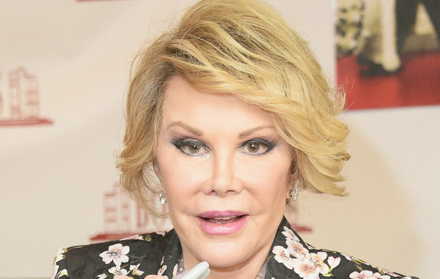 Joan Rivers /Michael Loccisano /Getty Images