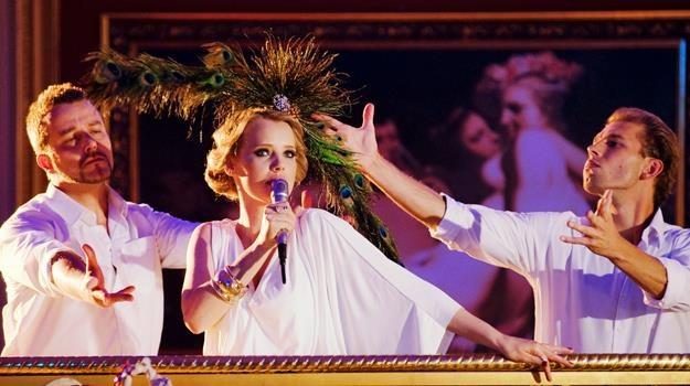 """Joana Kulig w scenie z filmu """"Disco polo"""" /materiały dystrybutora"""