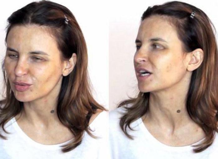 Joanna bez makijażu w programie Magdy Pieczonki (źródło: youtube.com) /materiał zewnętrzny