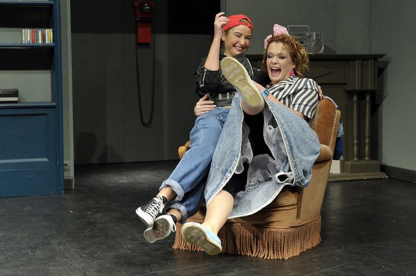 Joanna Brodzik i Daria Widawska /Kurnikowski /AKPA