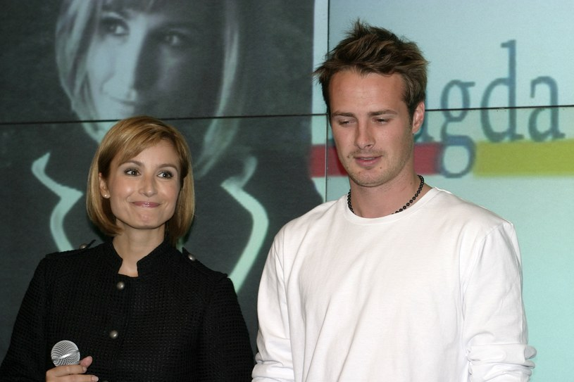 Joanna Brodzik i Paweł Małaszyński /Krzysztof Jarosz /Agencja FORUM