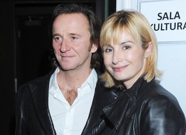 Joanna Brodzik i Paweł Wilczak /- /MWMedia