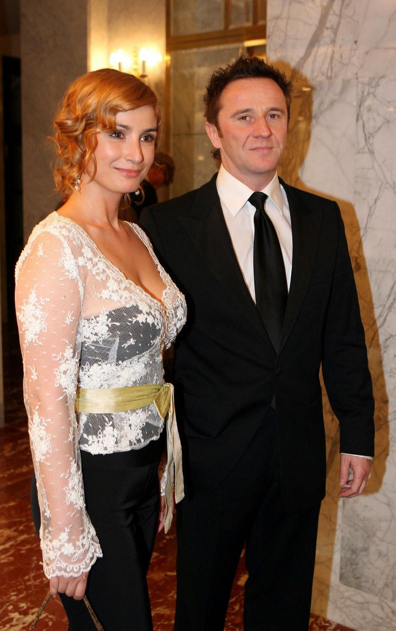 Joanna Brodzik i Paweł Wilczak /Piotr Fotek /East News