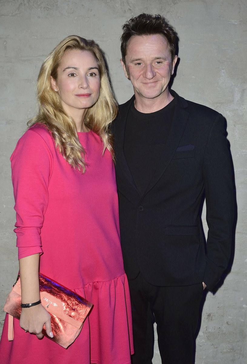 Joanna Brodzik i Paweł Wilczak /VIPHOTO /East News
