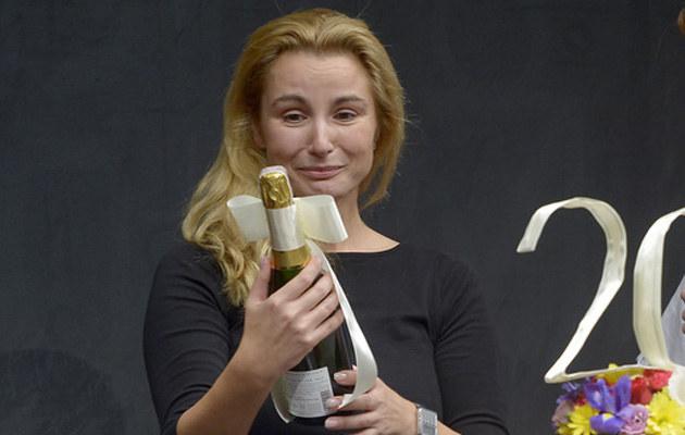 Joanna Brodzik tęskni za swoją przyjaciółką /Gałązka /AKPA