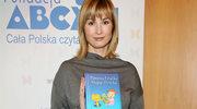 """Joanna Brodzik wspiera akcję """"Pierwsza Książka Mojego Dziecka"""""""