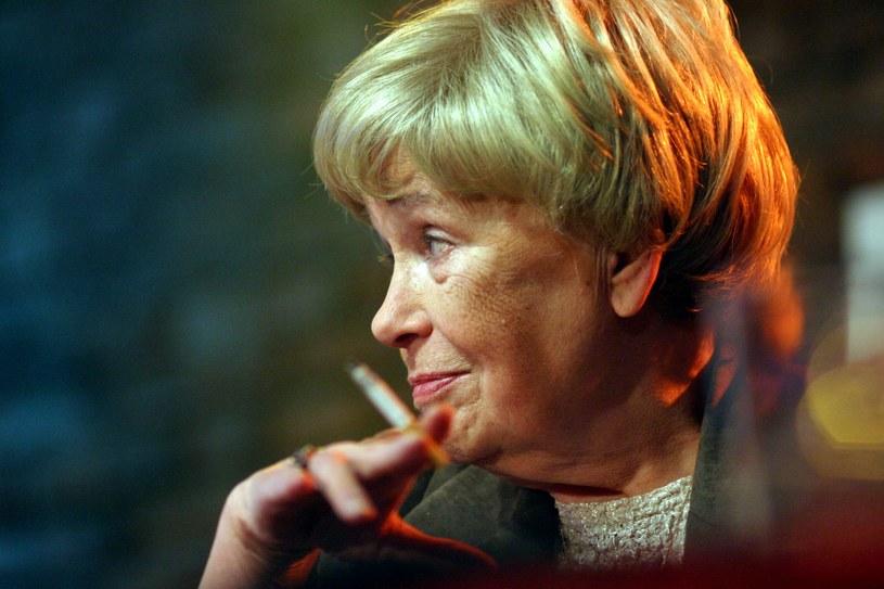 Joanna Chmielewska, pisząc, czerpała z własnego życia i obserwacji tego, co przez lata działo się wokół niej /Bartosz Siedlik /Agencja FORUM