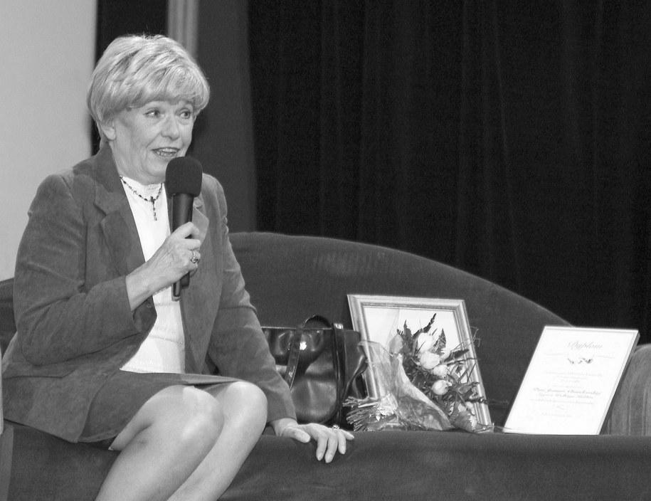 Joanna Chmielewska w 2004 roku /Jerzy Ruciński /PAP