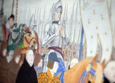 Joanna d'Arc - nieśmiertelny symbol kobiety walczącej /AFP