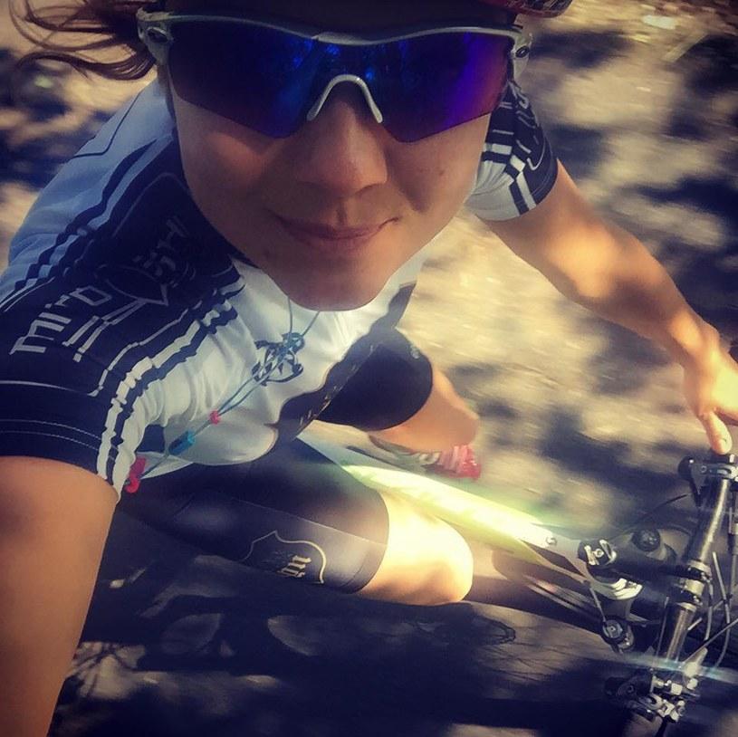 Joanna Jabłczyńska oprócz jeżdżenia rekreacyjnie na rowerze startuje także w profesjonalnych zawodach MBT /Facebook /internet