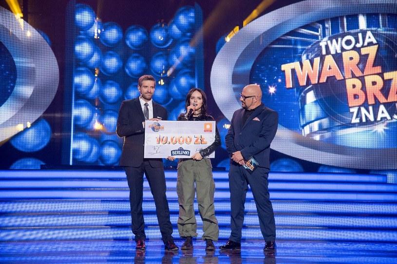 Joanna Jabłczyńska wygrała już drugi odcinek w tej edycji /Polsat