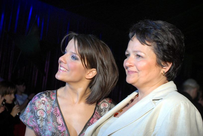 Joanna Jabłczyńska z mamą /MWMedia
