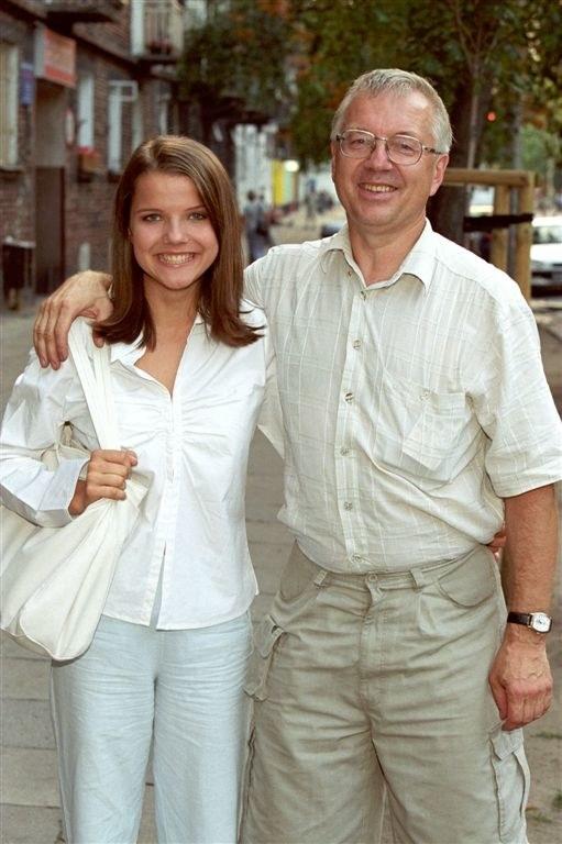 Joanna Jabłczyńska z ojcem /Agencja W. Impact