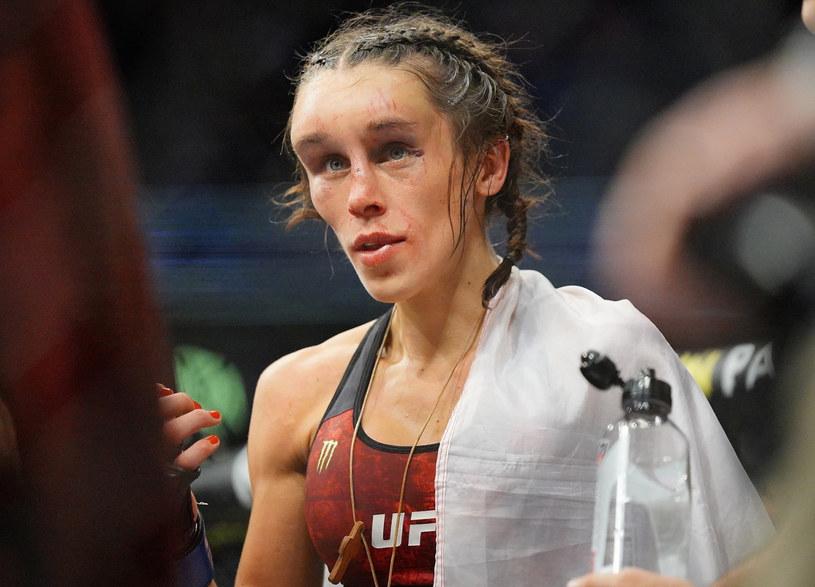 Joanna Jędrzejczyk nie odzyskała tytułu mistrzyni UFC /Louis Grasse/ pximages /East News