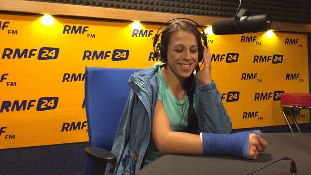 Joanna Jędrzejczyk w RMF FM /Maciej Jermakow /RMF FM