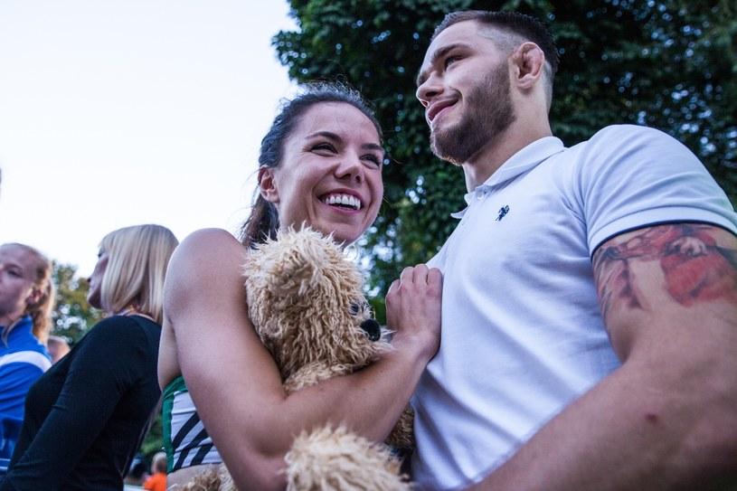 Joanna Jóźwik i Adam Niedźwiedź /Aleksandra Szmigiel /Reporter