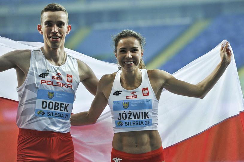 Joanna Jóźwik i Patryk Dobek /Marcin Bulanda/PressFocus /Newspix