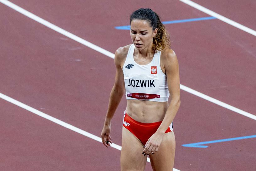 Joanna Jóźwik wiązało z występem w Tokio duże nadzieje. Niestety szybko wróciła do domu /Iwanczuk/Sport/REPORTER /Reporter